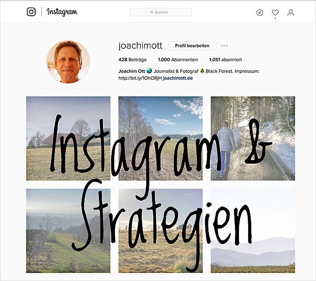 Eine Instagram Strategie hilft bei den unvermeidlichen Änderungen in den Sozialen Netzwerken.