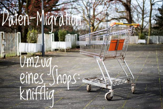 Shop-Umzug: manchmal muss es sein