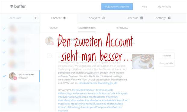 Ein zweiter Social Media Account hat viele Vorteile (und wenige Nachteile).