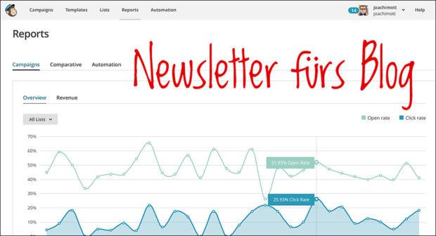 Brauche ich einen Newsletter für mein Blog?
