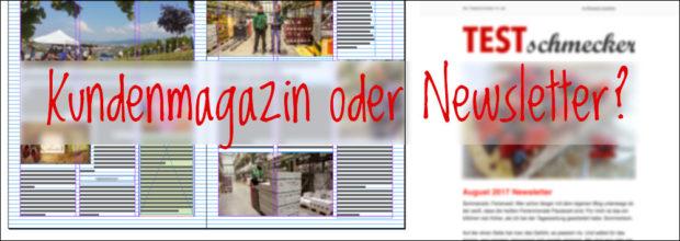 Kundenmagazin oder Newsletter?