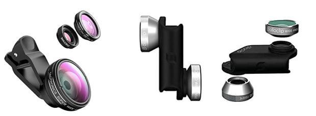 Clips mit Makrolinsen für Smartphones sind der schnellste und einfachste Weg zu Makrofotos.