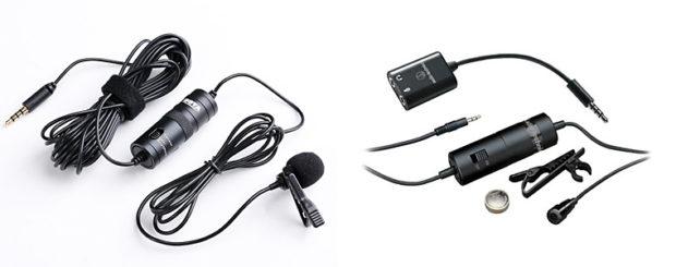 Lavaliermikrofone sind am dichtesten an der Schallquelle und liefern deswegen gute Ergebnisse.
