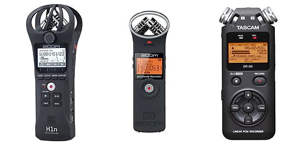 Audiorecorder sind universell nutzbar und deswegen eine gute Investition.