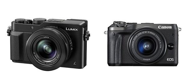 Minimalausrüstung für Urlaubs-Fotos: Kompakte Kamera und als Backup das Smartphone.