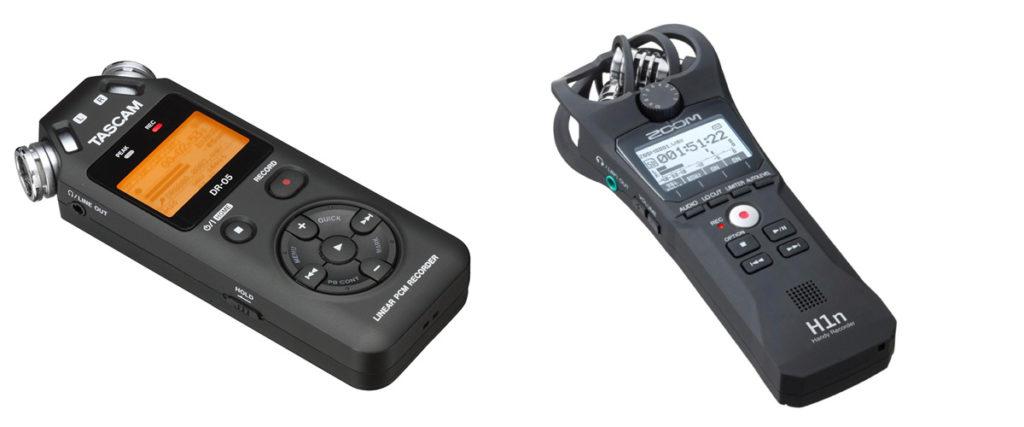 Aufnahmen kann man direkt in den Mac oder PC. Besser ist preiswerter Recorder in der 100-Euro-Klasse.
