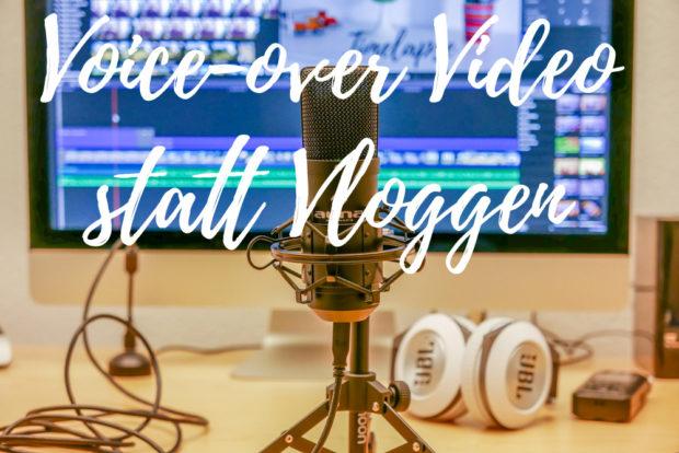 Voice-over Videos sind für viele ein besserer Einsteig ins Thema Videos als das gehypte Vloggen.