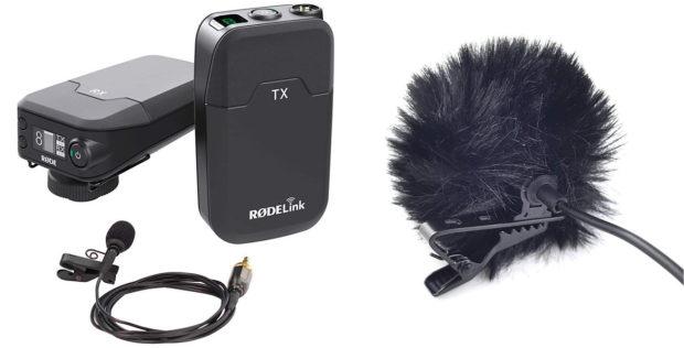 Luxus-Lösung Funk-Strecke: Wer auch mit größeren Kameras filmt, sollte darüber nachdenken.