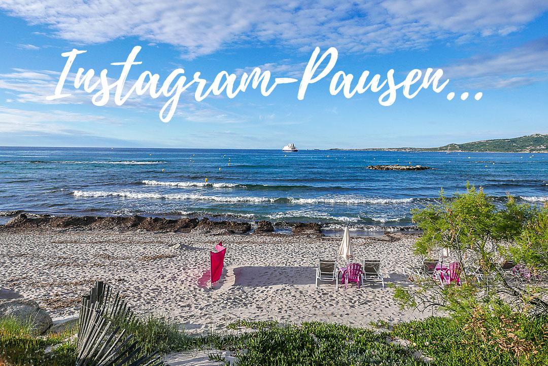 Instagram-Pause: Lässt sich relativ schadlos überstehen.