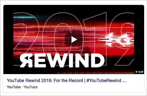 Krachend gescheitert: Youtube Rewind 2018. Der Zusammenschnitt aller Publikumslieblinge muss kein Publikumsliebling sein.