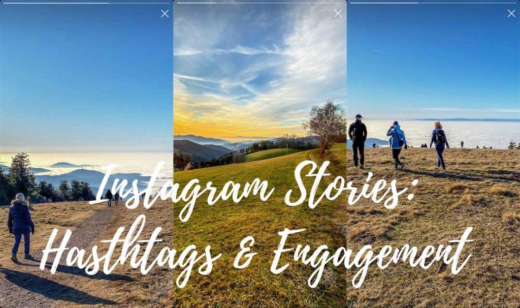 Instagram Stories: Hashtags und Engagement