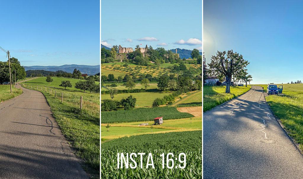 Im Blick haben sollte man schon beim Fotografieren für Instagram die Story-Formate und -Auswahl.