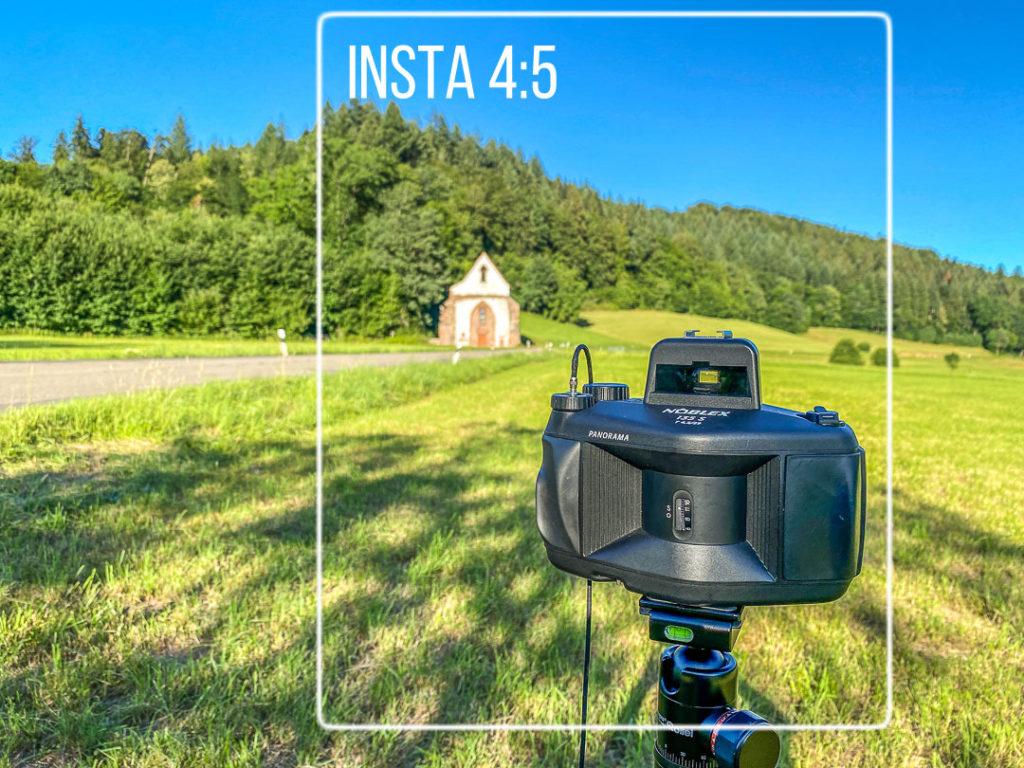 Fotografieren für Instagram heißt auch, das Standardformat für das Feed-Foto zu berücksichtigen.