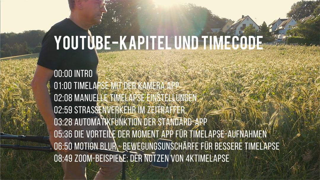 Youtube-Kapitel und Timecode sind eine Orientierungshilfe für Deine Videos. Bringen Sie auch Deinem Kanal etwas?