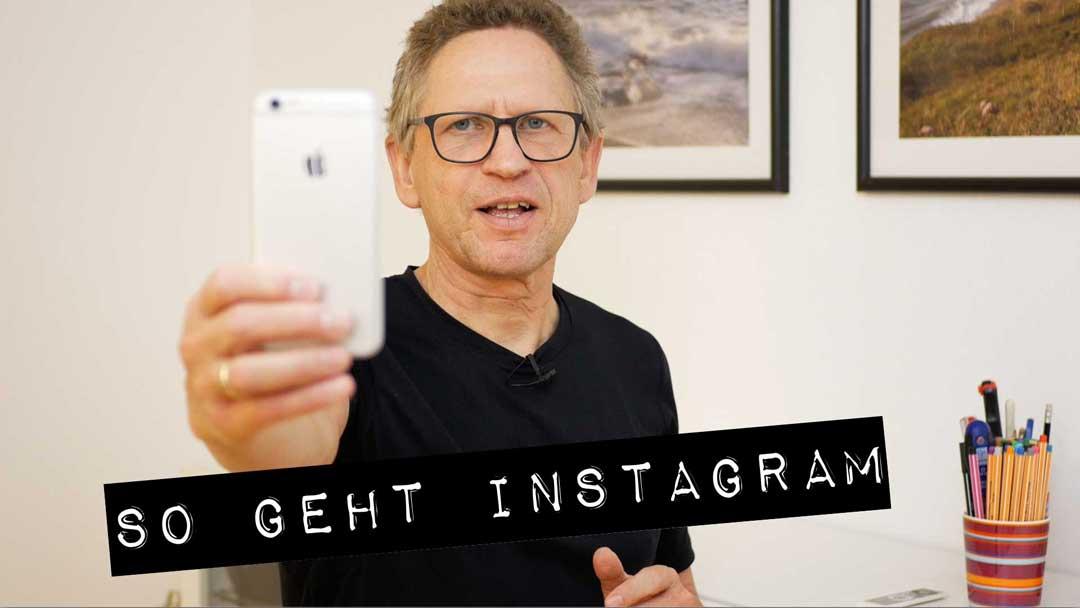 So geht Instagram: ein kostenloser Videokurs in drei Teilen.