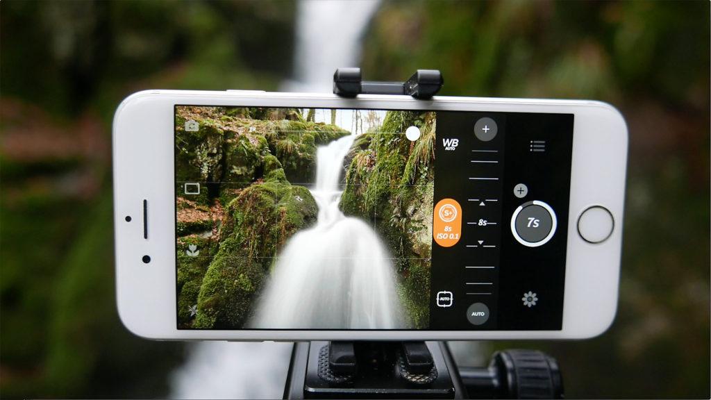 Locationsuche: Wasserfall für das Thema Langzeitbelichtungen mit dem iPhone.