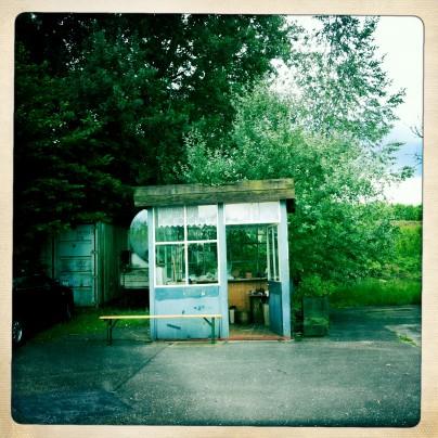 Kirschen-Tankstelle