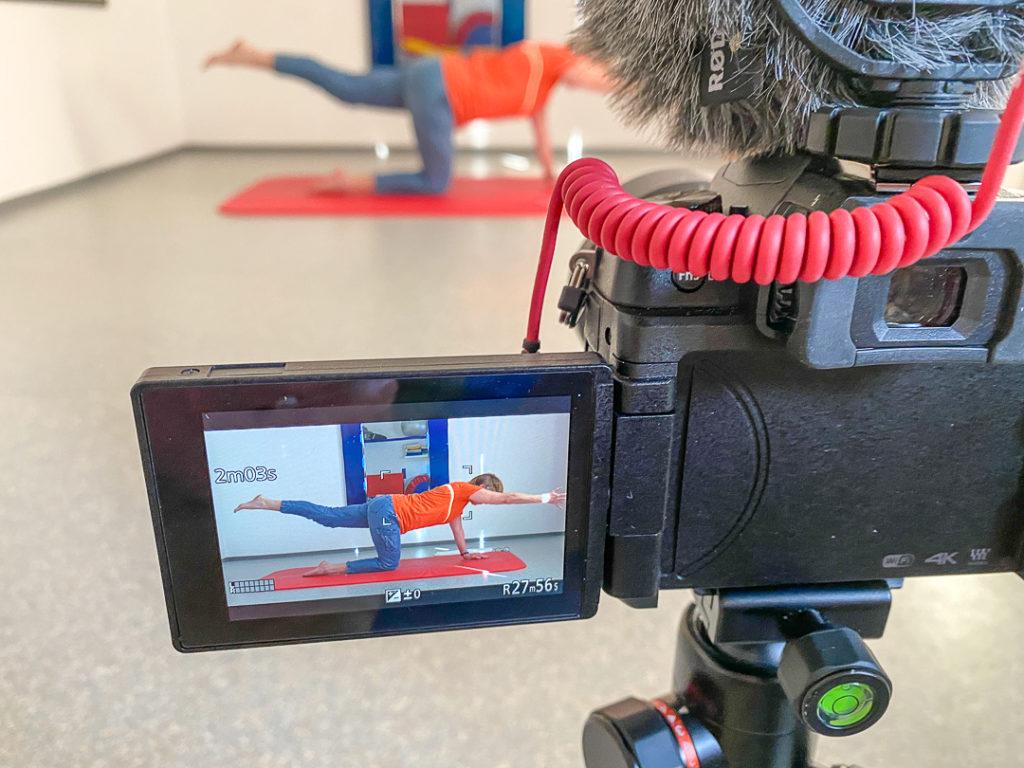 Tutorials oder Anleitungen, Do-it-yourself-Videos und Gymnastik sind Einsatzbereiche, bei denen man gerne über eine Dauer von 30 Minuten kommt.