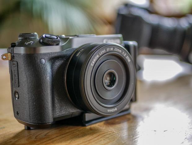 Vorteil der Herausfordern 'nur ein Objektiv': die Kamera bleibt sehr kompakt.