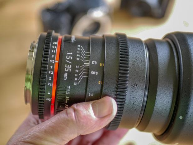Kleines Manko: Das Gewicht und der große Frontdurchmesser, der Filter verteuert.