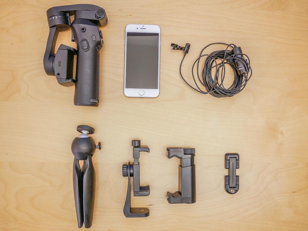 Mini-Video-Ausrüstung - für den professionellen Look.