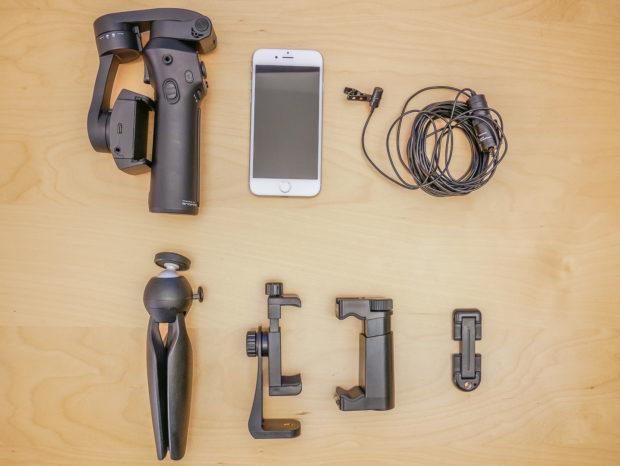 Mini-Video-Ausrüstung - für Videos zuhause bringen den professionellen Look.