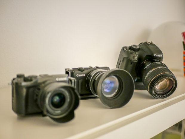 Wer einem Hersteller treu bleibt, der erhält auch mit verschiedenen Kameras ähnliche Ergebnisse.