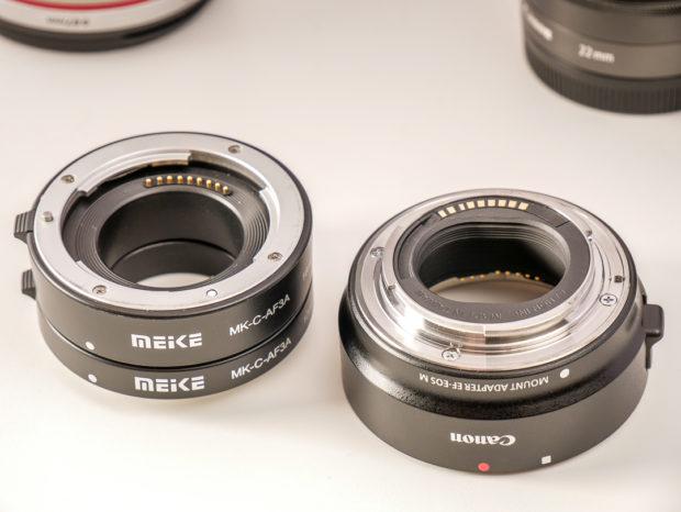 Zubehör, Adapter und Objektive lohnen sich vor allem, wenn man in zweites, gebrauchtes Kameragehäuse investiert.