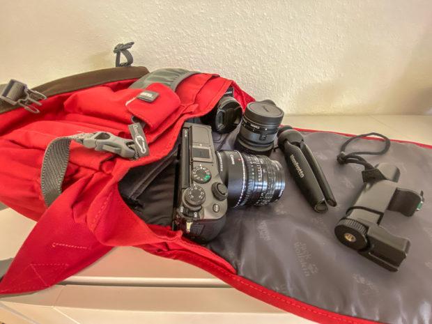 Kameratasche oder Foto-Rucksack: Praktikabel solle es sein.