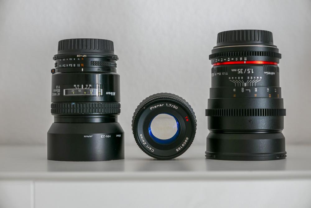 Manuelle Objektive können vergessene Schätze sein für Fotografen und Videofilmer.
