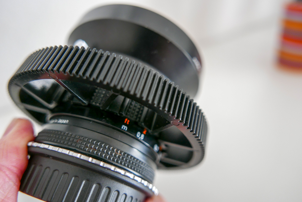Ein Fokussierring und Follow-Focus machen die lichtstarken Linsen gerade für Video-Aufnahmen sehr interessant.