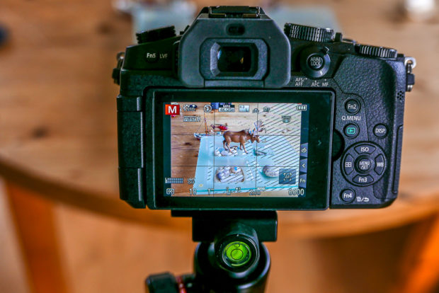 Auch moderne Kameras wie hier die Lumix G81 bieten Einstellhilfen wie Zebra und Fokus-Peaking.