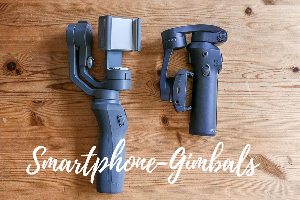 Smartphone-Gimbal: kompakte Modelle sind praktisch.