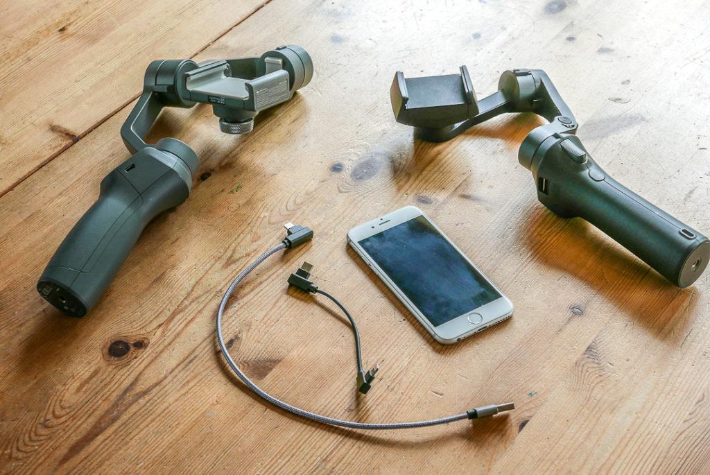 Smartphone-Gimbals gibt es in verschiedenen Ausführungen: prüfen und vergleichen.