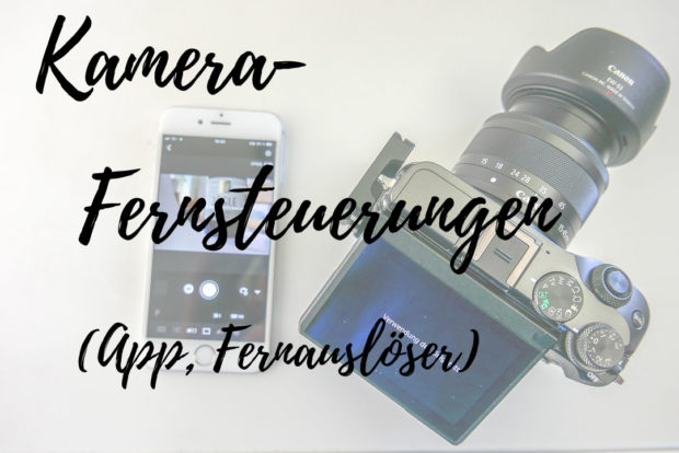 Kamera-Fernsteuerung - mit App die wohl bequemste und sicherste Lösung zum Beispiel für Selfies.