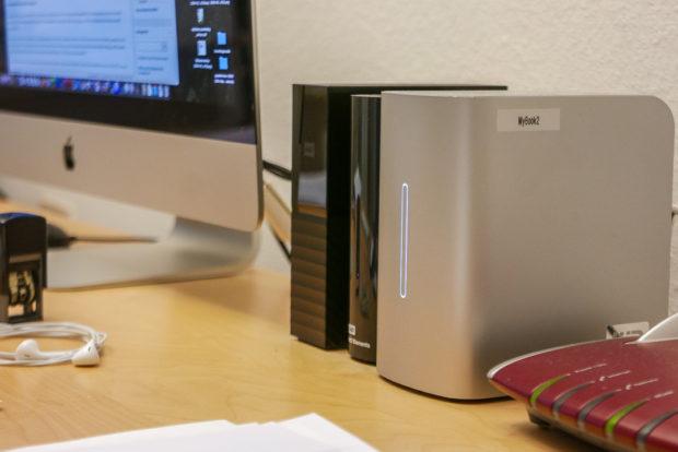 Home Office und Datensicherung: Externe Festplatten sind der erste Schritt.