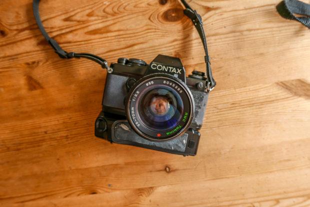 Alte Fotoausrüstung wieder in die Hand nehmen und einsetzen, mehr als ein gutes Gefühl.