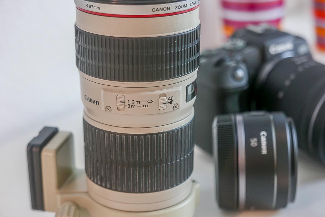 Tele-Erweiterung fürs Fotografieren: Gerne eine gebrauchte EF-Linse.