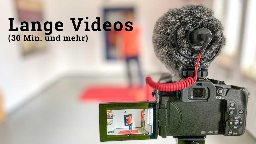 Lange Videos haben ein paar Eigenheiten, auf die man sich möglichst frühzeitig einstellen sollte.
