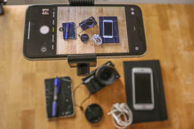 Mit dem Smartphone lassen sich in unzähligen Variationen Stilleben einfangen, Du kannst Foodfotos machen oder sogar kleine Videos.