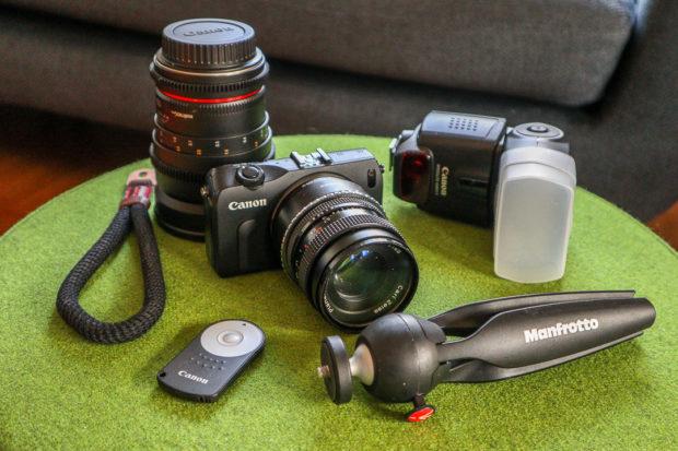 Sinnvoll: Das Zubehör für mehrere Kameras nutzen.