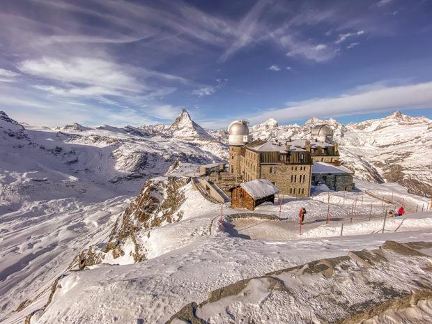 Gornergrat und Matterhorn: Die Qualität reicht für mehr als Erinnerungsfotos.