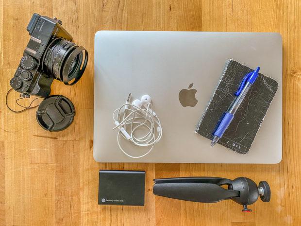 Flatlay Fotografie ohne großen Aufwand ist ideal fürs Blog und für die Sozialen Medien.