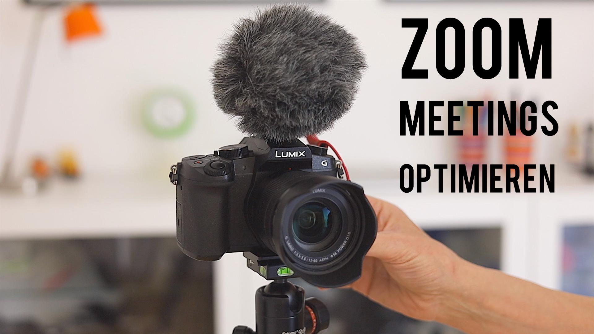 Zoom Meetings verbessern: mit Licht, Ton, Kamera
