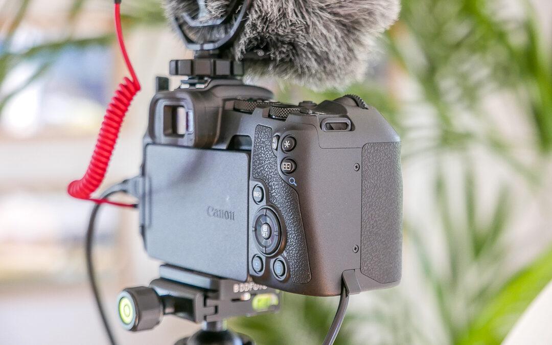 Externe Stromversorgung für die Canon EOS RP