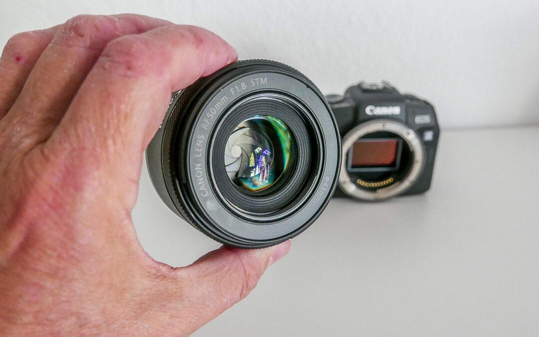 Canon RF 50 mm F1.8 STM: gute Basis-Ausstattung
