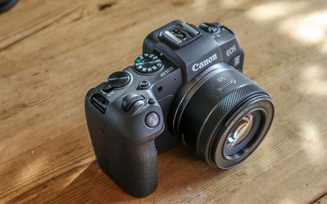 Checkliste: nach dem Kamerakauf (Canon EOS RP)