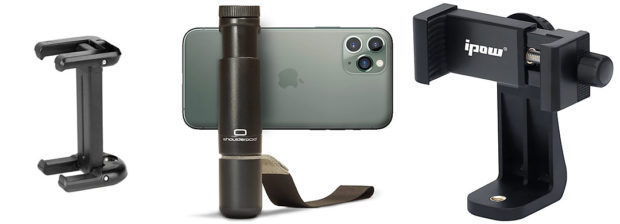 iPhone Stativ-Haleterungen für Timelapse Aufnahmen