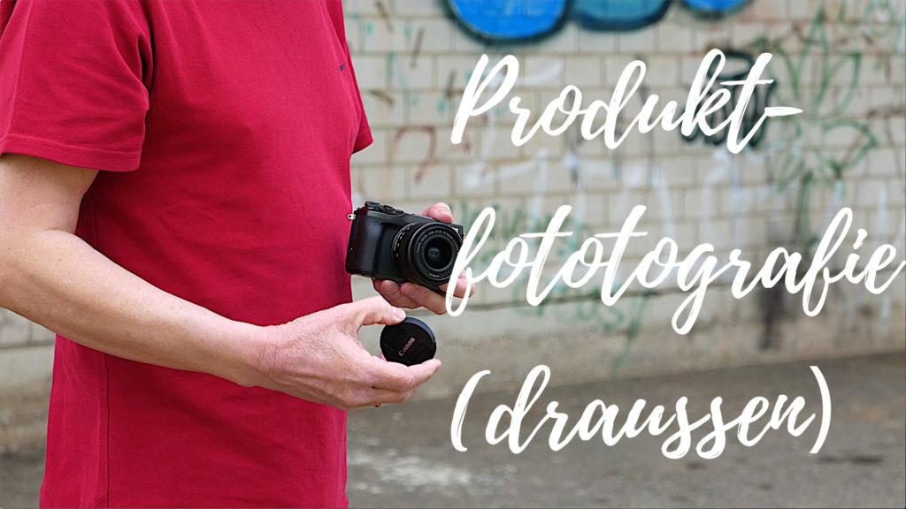Außenaufnahmen: Produktfotografie draußen macht oft nicht nur mehr Spass, sondern bietet auch viel mehr Möglichkeiten.