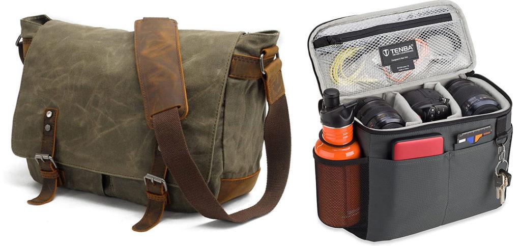 """Kamertasche """"Undercover"""": Darf ruhig etwas abgenutzt aussehen."""